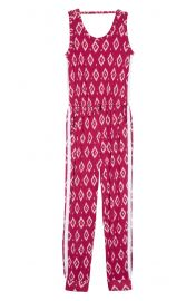 Tucker + Tate Print Knit Jumpsuit at Nordstrom