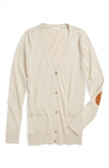 Tucker and Tate Sheena Boyfriend Cardigan in Oatmeal at Nordstrom