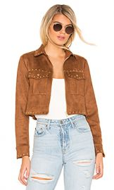 Tularosa Abbot Jacket in Brown from Revolve com at Revolve