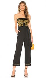 Tularosa Emma Jumpsuit in Black from Revolve com at Revolve