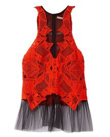 Tulle Lace Top by Jonathan Simkhai at Intermix