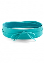 Turquoise belt at Modcloth