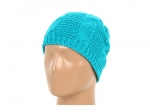 Turquoise blue knit beanie at Zappos