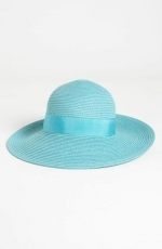 Turquoise blue sun hat  at Nordstrom