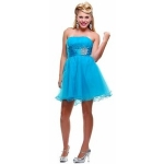 Turquoise dress from Glee at Discountdressshop