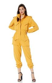 Turtle Cargo Jumpsuit by Norma Kamali at Amazon