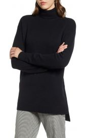 Turtleneck tunic sweater at Nordstrom
