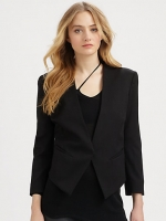 Tux blazer by Helmut Lang at Saks Fifth Avenue