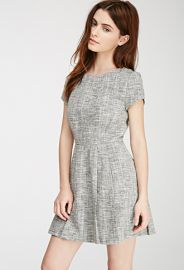 Tweed Fit and Flare Dress  Forever 21 - 2000100834 at Forever 21