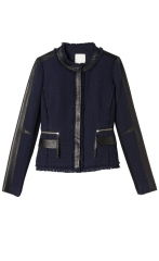 Tweed Fitted Blazer by Rebecca Taylor at Rebecca Taylor