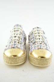 Tweed Low Cut Sneakers by Chanel at eBay