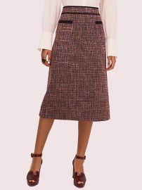 Tweed Midi Skirt at Kate Spade
