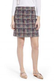 Tweed Mini Skirt at Nordstrom Rack