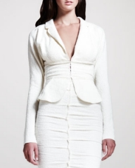 Tweed Peplum Jacket by Nina Ricci at Bergdorf Goodman