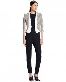 Tweed Scuba Crepe Jacket at Narciso Rodriguez