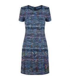 Tweed Shift Dress by St. John at Harrods