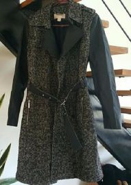 Tweed Trench Coat by Michael Kors Collection at Poshmark