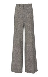Tweed Wool Wide-Leg Pants by Victoria Beckham at Moda Operandi