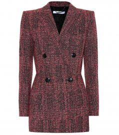 Tweed blazer at Mytheresa