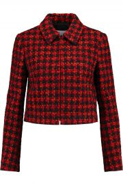 Tweed jacket at The Outnet