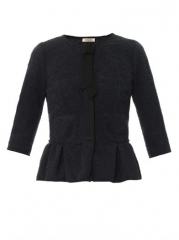 Tweed peplum jacket by Nina Ricci at Matches