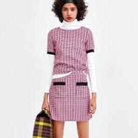 Tweed top and skirt at Zara
