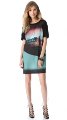 Twelfth St by Cynthia Vincent Button Back Shift Dress at Shopbop