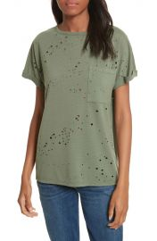 Twenty Waverly Perforated Tee at Nordstrom