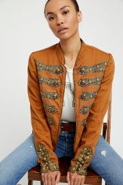 Twill Band Jacket  Free People at Free People