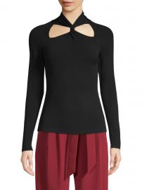 Twist Neck Pullover at Saks Fifth Avenue