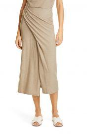 Twist Drape Midi Skirt by Vince at Nordstrom