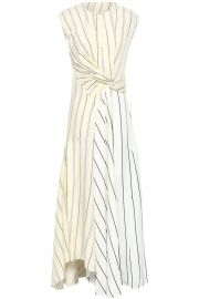 Twist-Front Striped Poplin Maxi Dress by 3.1 Phillip Lim at The Outnet