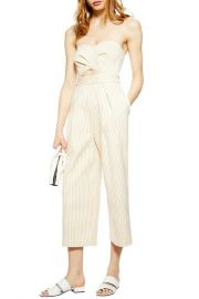 Twist bandeau jumpsuit at Nordstrom Rack
