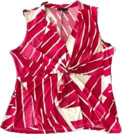Twist front top by Calvin Klein at Macys