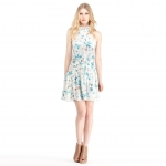 Twisted halter neck dress by Rachel Roy on Hart of Dixie at Rachelroy