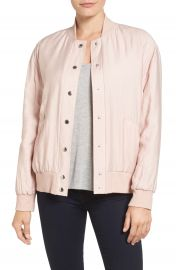 Two by Vince Camuto Rumpled Bomber Jacket at Nordstrom