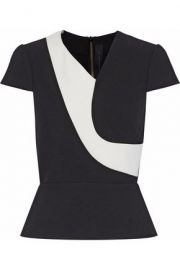Two tone top by Roland Mouret at The Outnet