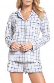 UGG Milo Check Short Pajamas at Nordstrom
