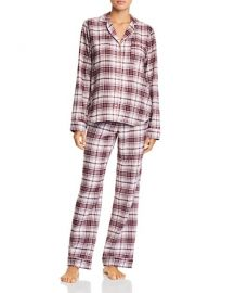 UGG RAVEN PLAID FLANNEL PAJAMA SET at Bloomingdales