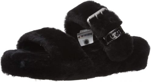 UGG Women s Fuzz Yeah Slipper at Amazon