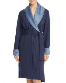 UGG amp reg  Duffield II Double-Knit Fleece Robe Women - Bloomingdale s at Bloomingdales