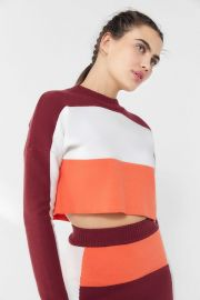 UO Asa Colorblock Cropped Top at Urban Outfitters