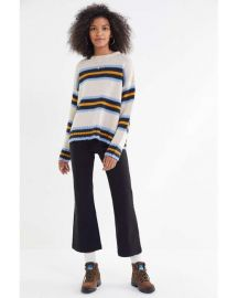 UO Bobby Boyfriend Striped Crew-neck Sweater at Urban Outfitters