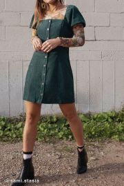 UO Corduroy Dress at Urban Outfitters