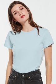 UO The Little Brother Tee in Sky at Urban Outfitters