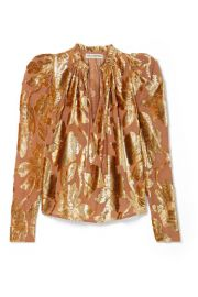 Ulla Johnson - Camilla devor  -chiffon blouse at Net A Porter