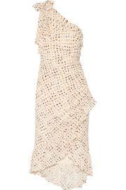 Ulla Johnson   Imogen one-shoulder printed silk crepe de chine dress at Net A Porter
