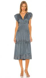 Ulla Johnson Claudia Dress in Slate from Revolve com at Revolve