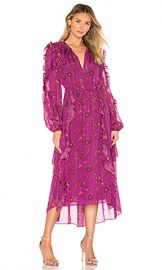 Ulla Johnson Ellette Dress in Magenta from Revolve com at Revolve