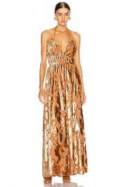 Ulla Johnson Gia Dress in Rose Gold   FWRD at Forward
